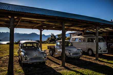 Vintage cars Manapouri Motels and Holiday Park