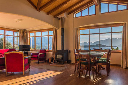 Inside 'Green Crib' Manapouri Motels